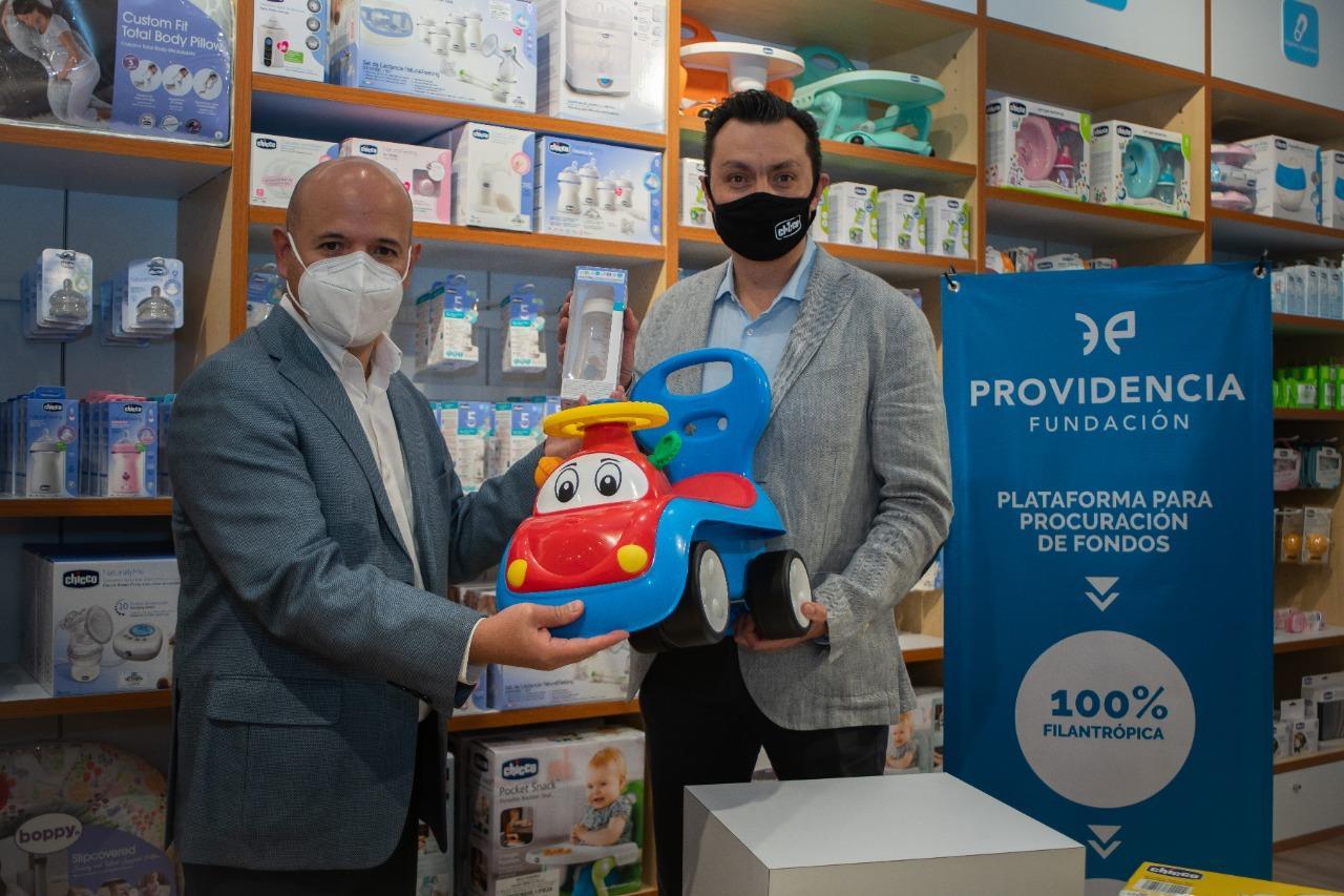 Fundación Providencia y Chicco México nos unimos para llevar alegría en diciembre 2020 a niños en zonas marginadas.