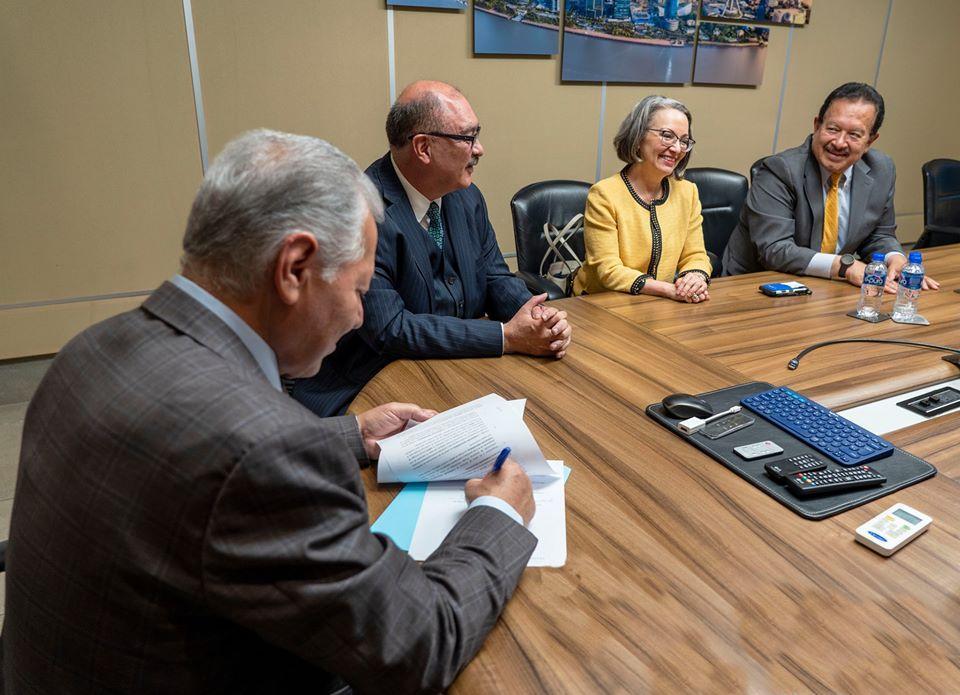 Alianza con la Junta de Asistencia Privada, con quien se firmó un convenio de colaboración para beneficiar a más organizaciones