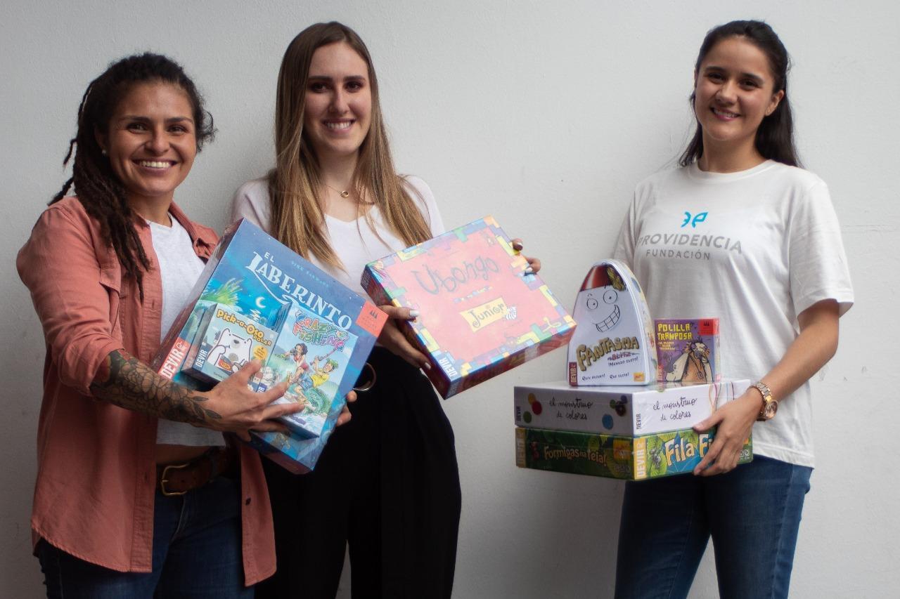 Comunicado de Prensa: Fundación Providencia y DEVIR aliados por los niños.